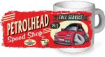 Koolart PERTOLHEAD SPEED SHOP Design For Retro Mk3 Ford Fiesta RS Turbo Ceramic Tea Or Coffee Mug